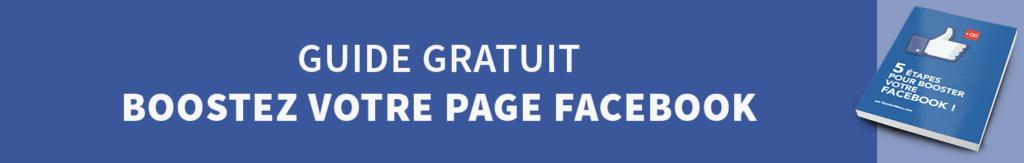 Guide Gratuit Boostez votre Page Facebook